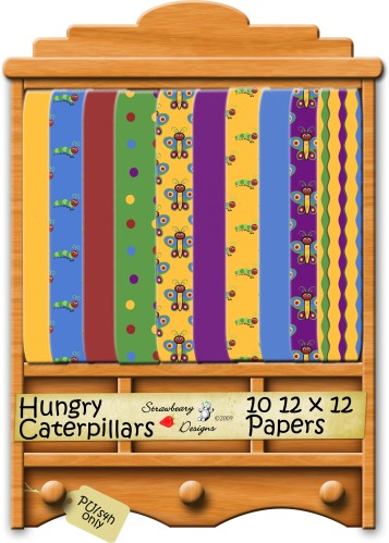 Caterpillar Paper Preview