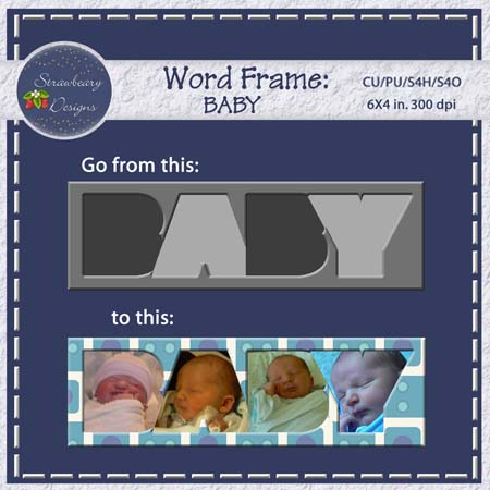 SD_WordFrame_PreviewBaby